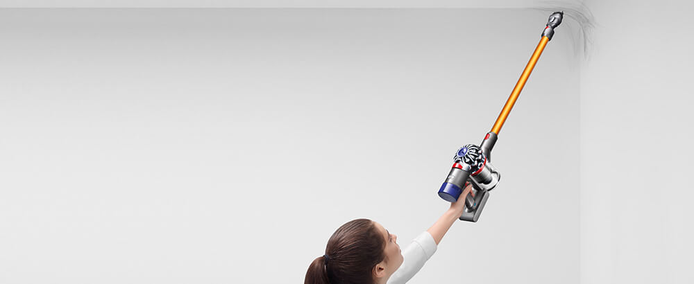 Dyson V8 Cordless Vacuum Cleaner Cleans Up High