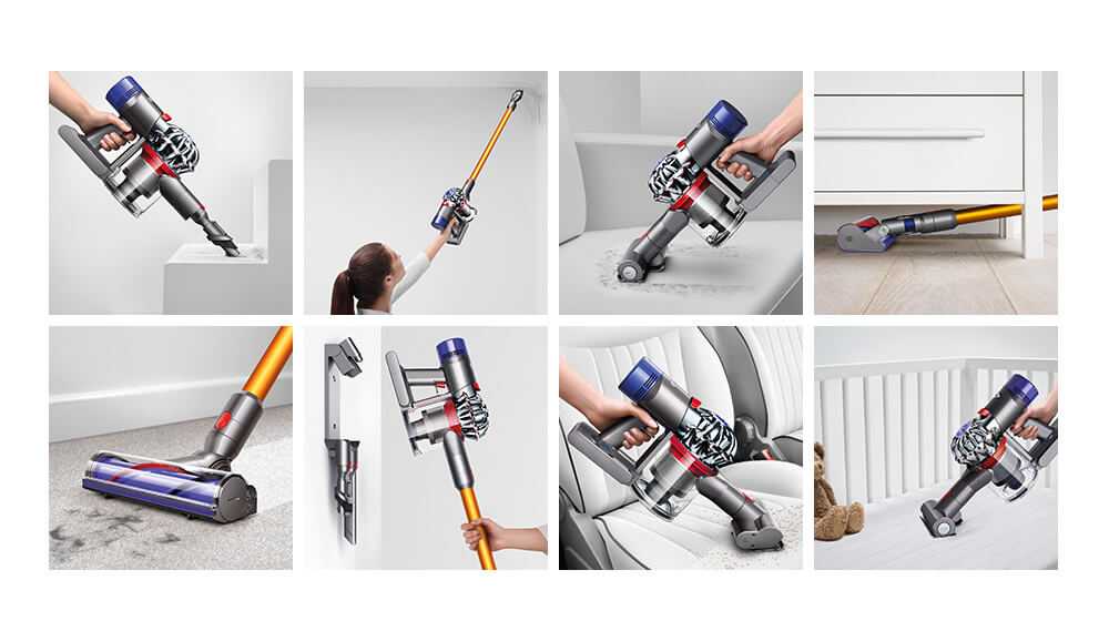 Dyson V8 Cordless Vacuum Cleaner Versatile Whole Home Cleaning