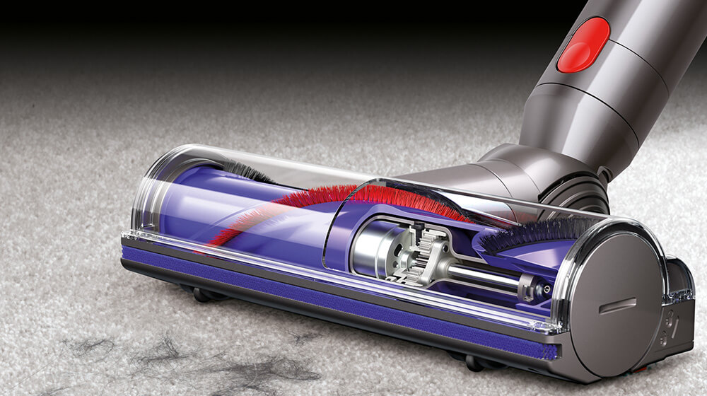 Dyson V8 Absolute Cordless Vacuum Cleaner Direct Drive Head Technology