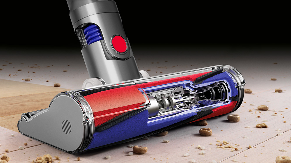 Dyson V8 Cordless Vacuum Cleaner Soft Roller Head Technology